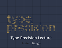 Type Precision | Poster Design