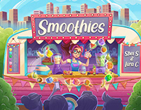 Smoothies - board game
