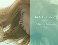 Wella Professional - Facebook Editorial Calendar