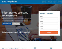 Free Ultimate Landing Page Template