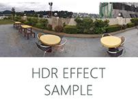 HDR Effect samples