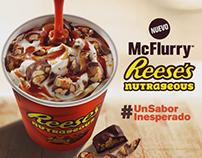 Lanzamiento McFlurry Reeses McDonalds