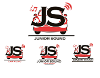 logo junior sound car audio