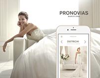 Pronovias. Responsive website concept