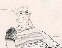 Sketches of my mum