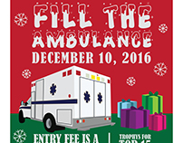 Fill the Ambulance Poster