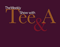 The Weekly Show with Tee & A logo