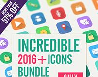 Incredible 2016+ ICONS BUNDLE