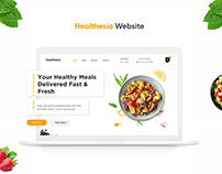 Healthesia Landing Page