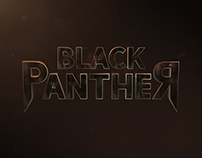 Marvel's Black Panther Logo Reveal