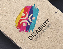 Disability is not a barrier Logo