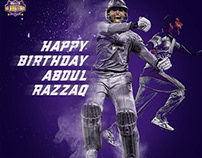 Quetta Gladiators Player Birthday