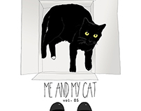 Illustration project ME AND MY CAT volume 5