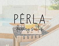PERLA LUXURY SUITES | LOGOTYPE DESIGN | 2019