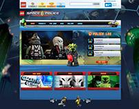 LEGO - Galaxy Space Police - Galaxy City Getaway