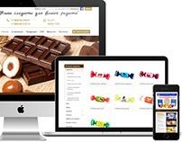 Сайт: Шоколадная фабрика