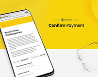 Form fill - Payment Confirmation Concept Web