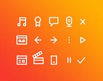 POP 101.5 Radio   Branding, Website & App Design