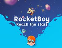 Rocket Boy - Mobile game