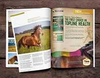 Cargill—Nutrena Empower Topline Balance Print Ads
