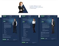 Сайт и фирменный стиль «Триада»
