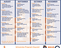 Auburn University Program Council, Fall 2016 Calendar
