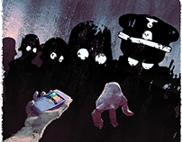 """""""Haunted By The Past"""" Pacific Standard Illos"""