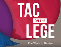 TAC on the Lege video podcast graphics
