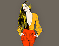 Fashion style illustration