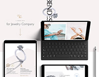 Bendes Jewelry Landing Pages