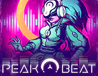 """2D ANIMATION CHARACTER & VFX FOR """"PEAK.BEAT"""" PROJECT"""
