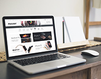 Redesign of online store macuser