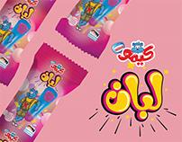 Kimo Bubble Gum Ice Cream