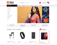 Mi Store Bangladesh Website