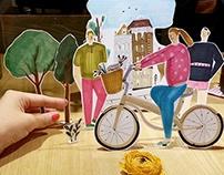 make paper doll