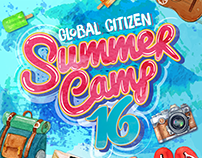 Global Citizen Summer Camp 2016 Promotional package