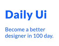 Daily Ui