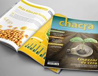 Rediseño de Revista e Infografía • Chacra