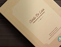 Projeto Gráfico do livro Fragmentos de uma vida