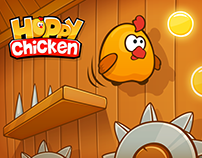 Hoppy Chicken - mobile game