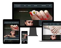 Colour Couture Site Design and Try It On Tool