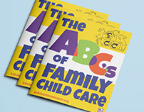 SEIU The ABC's of Family Child Care Coloring Book