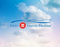 BMO HARRIS PAVILION Logo/Branding