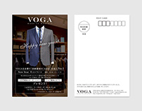 NEW YEARS CARD. VOGA