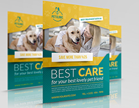 Veterinarian Clinic Flyer Template