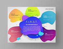 Mitac 建立充滿幸福感的永續企業 經營理念海報