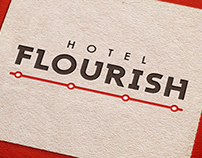 Hotel Flourish Logo & Icon Set