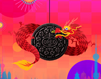 OREO Chinese New Year GIF Greetings TVC