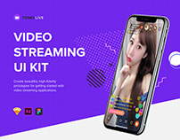 TOMO Video Streaming UI Kit
