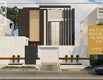 Contemporary villa in ksa